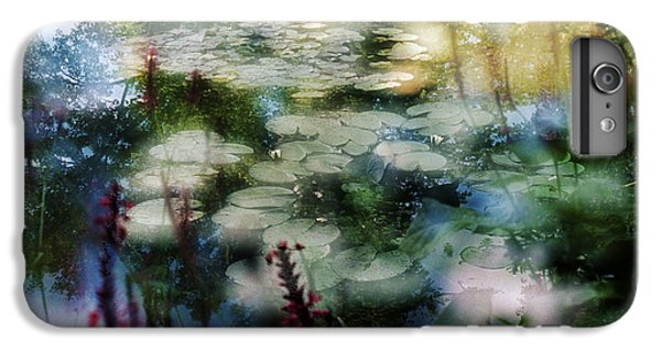 IPhone 7 Plus Case featuring the photograph At Claude Monet's Water Garden 2 by Dubi Roman