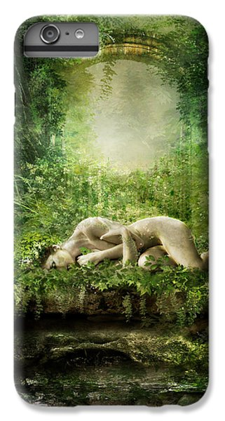 Elf iPhone 7 Plus Case - At Sleep by Karen Koski