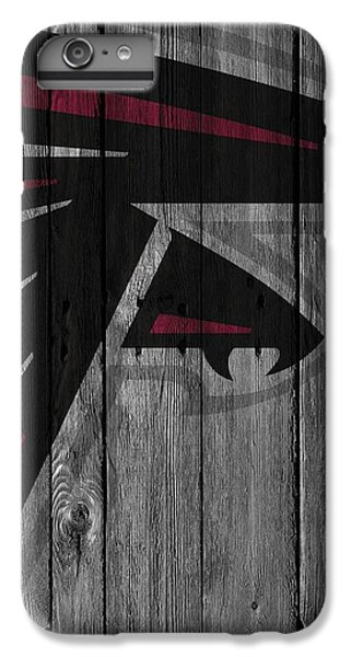 Atlanta Falcons Wood Fence IPhone 7 Plus Case by Joe Hamilton