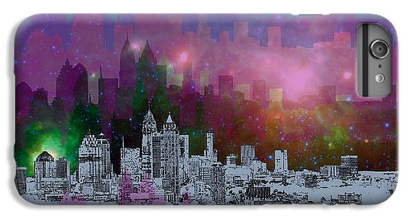Contemporary iPhone 7 Plus Case - Atlanta Skyline 7 by Alberto RuiZ