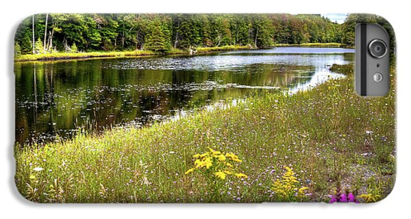 IPhone 7 Plus Case featuring the photograph August Flowers On The Pond by David Patterson