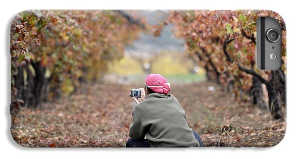 IPhone 7 Plus Case featuring the photograph Autumn At Lachish Vineyards 1 by Dubi Roman
