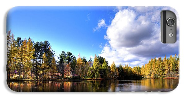 IPhone 7 Plus Case featuring the photograph Autumn Calm At Woodcraft Camp by David Patterson