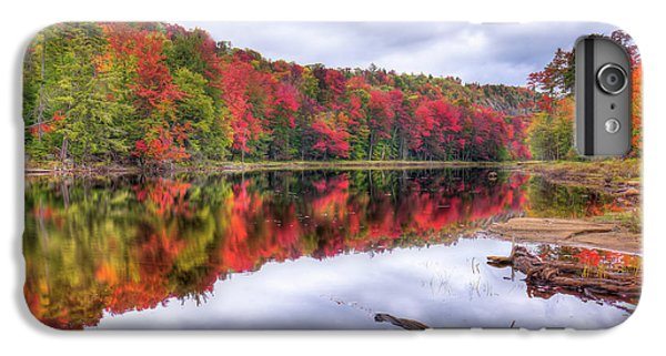 IPhone 7 Plus Case featuring the photograph Autumn Color At The Pond by David Patterson