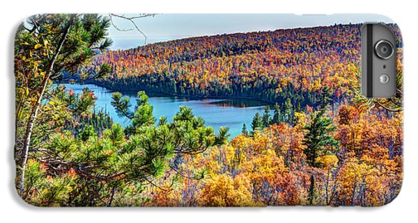 Lake Superior iPhone 7 Plus Case - Autumn Colors Overlooking Lax Lake Tettegouche State Park II by Wayne Moran