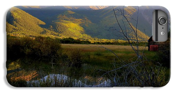 IPhone 7 Plus Case featuring the photograph Autumn Evening by Karen Shackles
