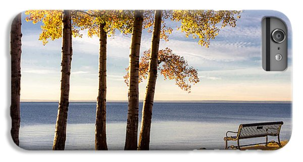 Lake Superior iPhone 7 Plus Case - Autumn Morn On The Lake by Mary Amerman