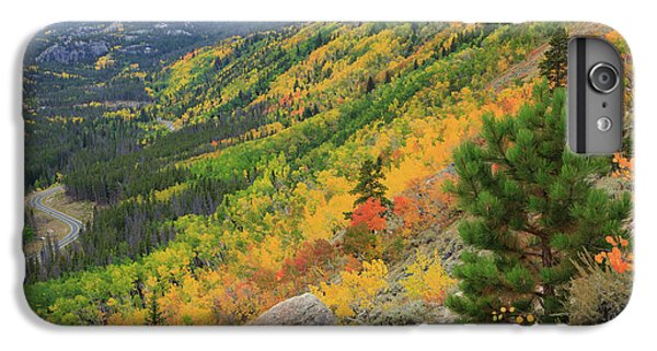 IPhone 7 Plus Case featuring the photograph Autumn On Bierstadt Trail by David Chandler