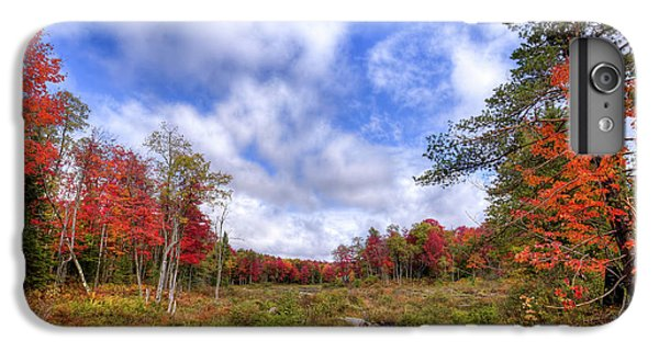 IPhone 7 Plus Case featuring the photograph Autumn On The Stream by David Patterson