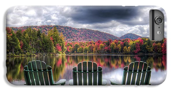 IPhone 7 Plus Case featuring the photograph Autumn On West Lake by David Patterson