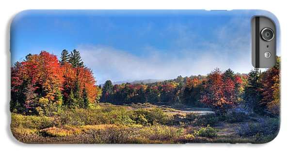 IPhone 7 Plus Case featuring the photograph Autumn Panorama At The Green Bridge by David Patterson