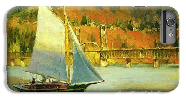 Sailboat iPhone 7 Plus Case - Autumn Sail by Steve Henderson