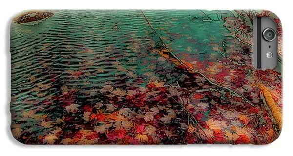 IPhone 7 Plus Case featuring the photograph Autumn Submerged by David Patterson