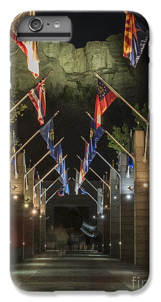 Avenue Of Flags IPhone 7 Plus Case by Juli Scalzi