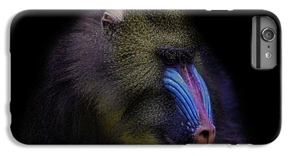 Gorilla iPhone 7 Plus Case - Baboon Portrait by Martin Newman