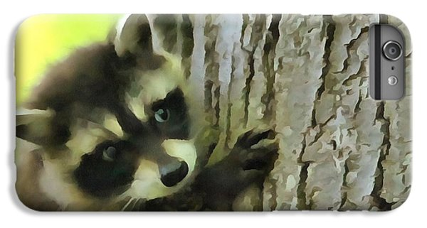 Baby Raccoon In A Tree IPhone 7 Plus Case by Dan Sproul