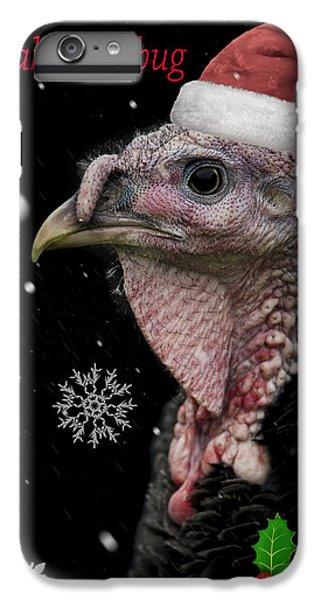 Turkey iPhone 7 Plus Case - Bah Humbug by Paul Neville