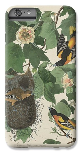Baltimore Oriole IPhone 7 Plus Case by Rob Dreyer