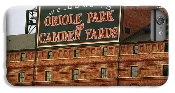 Oriole iPhone 7 Plus Case - Baltimore Orioles Park At Camden Yards by Frank Romeo