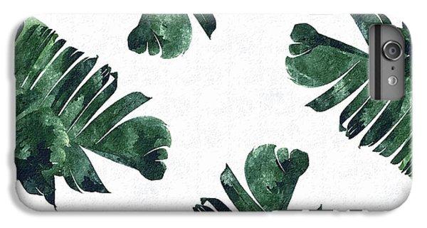 Banan Leaf Watercolor IPhone 7 Plus Case