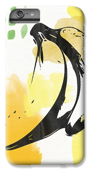 Orange iPhone 7 Plus Case - Bananas- Art By Linda Woods by Linda Woods
