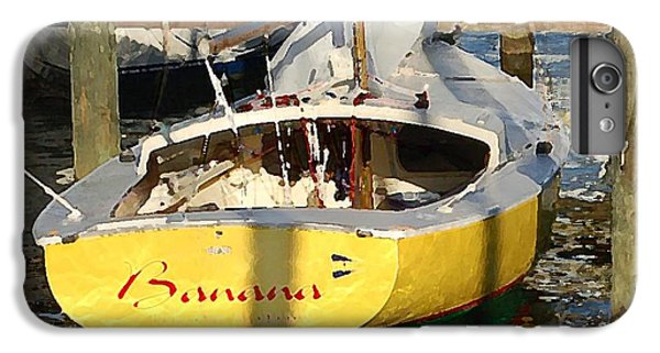 Shrimp Boats iPhone 7 Plus Case - Bananas  Closeup by Michael Thomas