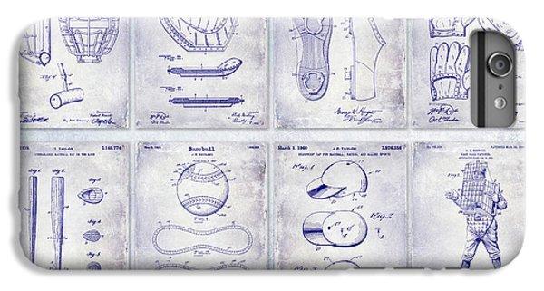 Oriole iPhone 7 Plus Case - Baseball Patent History Blueprint by Jon Neidert
