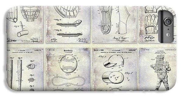 Oriole iPhone 7 Plus Case - Baseball Patent History by Jon Neidert