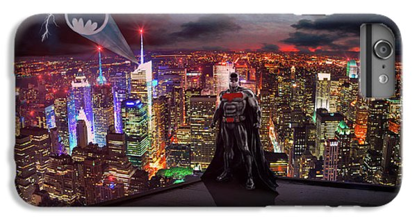 Ben Affleck iPhone 7 Plus Case - Batman by Michael Rucker