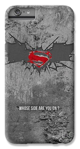 Ben Affleck iPhone 7 Plus Case - Batman V Superman by Parikshit Deshmukh