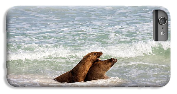 Kangaroo iPhone 7 Plus Case - Battle For The Beach by Mike  Dawson