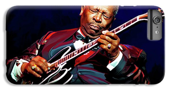 Bb King IPhone 7 Plus Case by Paul Tagliamonte
