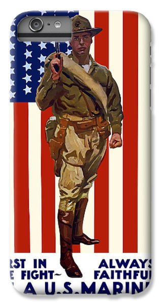 Marine iPhone 7 Plus Case - Be A Us Marine by War Is Hell Store