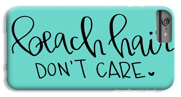 Beach Hair IPhone 7 Plus Case by Elizabeth Taylor
