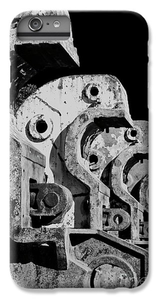 IPhone 7 Plus Case featuring the photograph Beam Bender - Bw by Werner Padarin