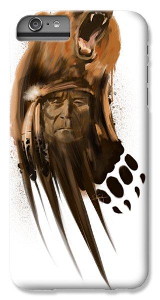 Grizzly Bear iPhone 7 Plus Case - Bear Spirit  by Sassan Filsoof