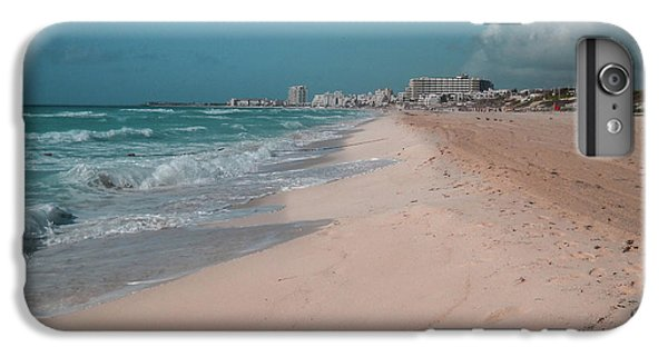 iPhone 7 Plus Case - Beautiful Beach In Cancun, Mexico by Nicolas Gabriel Gonzalez