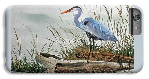 Heron iPhone 7 Plus Case - Beautiful Heron Shore by James Williamson