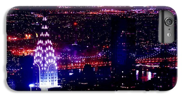 Chrysler Building iPhone 7 Plus Case - Beautiful Manhattan Skyline by Az Jackson