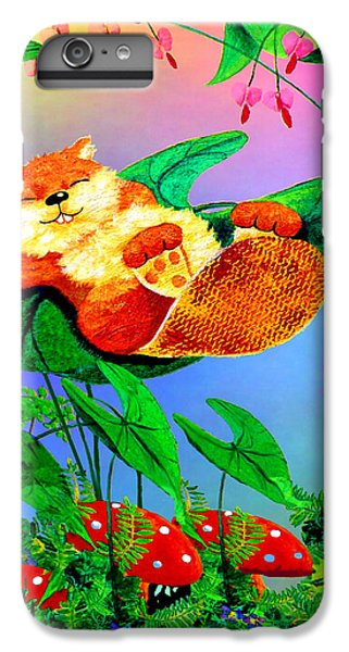 Beaver Bedtime IPhone 7 Plus Case by Hanne Lore Koehler
