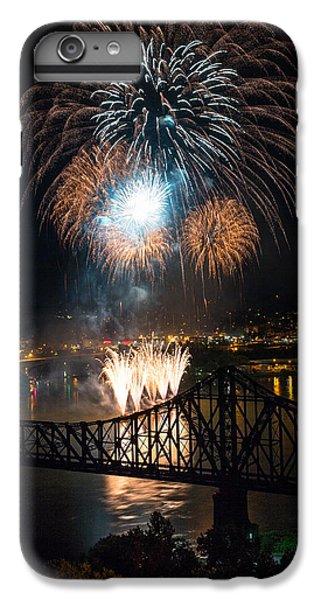 Beaver iPhone 7 Plus Case - Beaver County Fireworks 2 by Emmanuel Panagiotakis