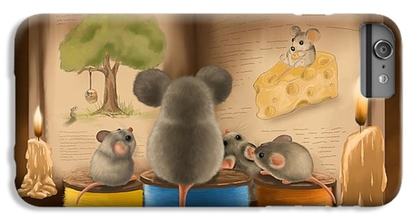 Bedtime Story IPhone 7 Plus Case by Veronica Minozzi