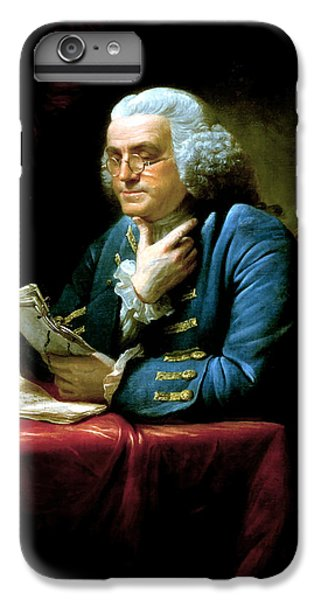 Marine iPhone 7 Plus Case - Ben Franklin by War Is Hell Store