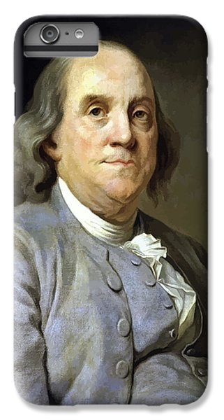 Marine iPhone 7 Plus Case - Benjamin Franklin Painting by War Is Hell Store