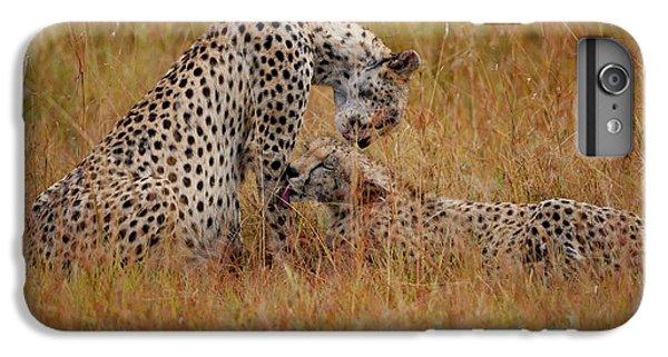 Cheetah iPhone 7 Plus Case - Best Of Friends by Smart Aviation