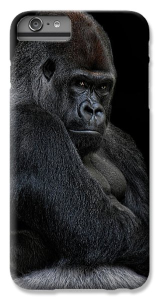 Gorilla iPhone 7 Plus Case - Big Silverback by Joachim G Pinkawa