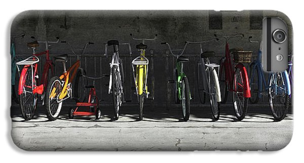Bike Rack IPhone 7 Plus Case by Cynthia Decker