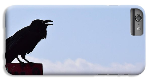 Crow Profile IPhone 7 Plus Case by Sandy Taylor