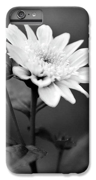 IPhone 7 Plus Case featuring the photograph Black And White Coreopsis Flower by Christina Rollo