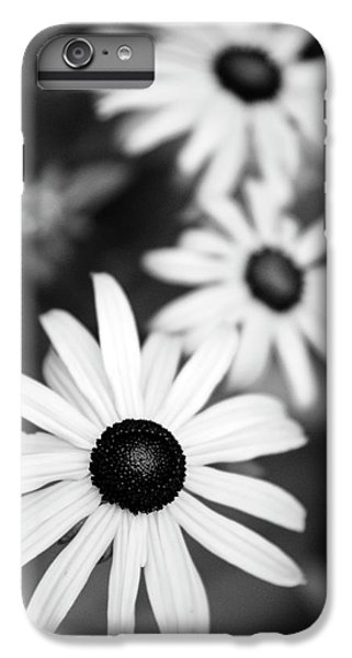 IPhone 7 Plus Case featuring the photograph Black And White Daisies by Christina Rollo